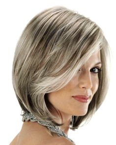 Natural Look Grey Wigs, Silver Wigs, Grey Wigs for Women and Men Emo Hairstyles For Guys, Bob Hairstyles, Dark Orange Hair, Medium Long Haircuts, Medium Hair Styles, Long Hair Styles, Wig Styles, French Roll Hairstyle, Curly Crochet Hair Styles
