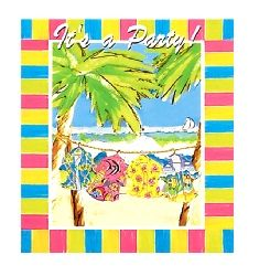 Hang Loose Invites Packed In 8's. Invitations to set the mood for your summer party, http://www.novelties-direct.co.uk/hang-loose-invites-packed-in-8s.html