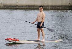 La foto de paddle surf de Rick Hagerty