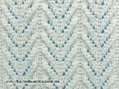 Lace Stitches for Spring 2016 - Pattern 10/10