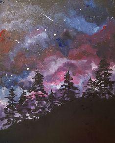 Paint Nite - Happy Little Galaxy