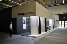 Living stand at Cersaie 2015 (Bologna, Italy)