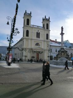 Banská Bystrica - Besztercebánya, Slovakia - St Francis Xavier Cathedral