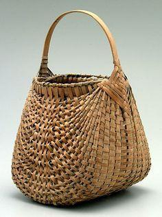 Oak splint ORIOLE basket