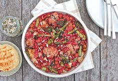 Warm Buckwheat and Broccoli Spicy Salad - DeliciouslyElla
