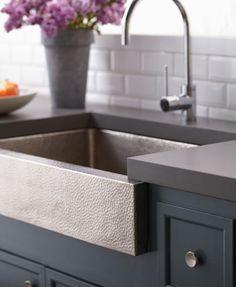 Copper Kitchen Sinks, Brushed Nickel Kitchen Sinks – Native Trails