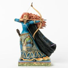 A Brave Princess (Merida) - Disney Traditions - Jim Shore