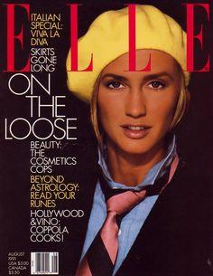 Kim Nye  -  Elle US Aug 1991