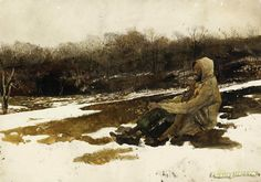 Army surplus Artwork by Andrew Wyeth Hand-painted and Art Prints on canvas for…