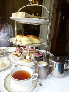 Enjoy a luxurious afternoon tea at Ashdown Park Hotel!