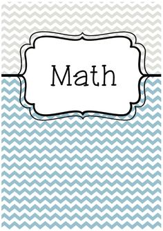 Free Blank Binder Cover Teal Quatrefoil  Teachers Pay Teachers