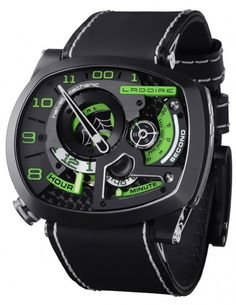 Black Widow Mr Green Automatic Skeleton Watch For Men