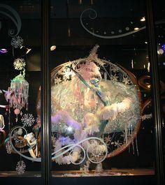 Window display in London