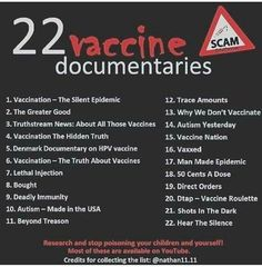22 Vaccine Documentaries You think they might have something there? Health And Wellness, Health Care, Healthy Life, Healthy Living, Natural News, Greater Good, Health Facts, Good To Know