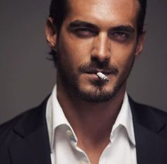 My Dirty Thoughts Dusan Susnjar, Cigarette Men, Marlon Teixeira, Man Smoking, Pipe Smoking, Wattpad, Awesome Beards, Hommes Sexy, Love And Lust