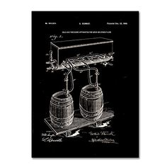 Trademark Fine Art Art Of Brewing Beer Patent Black by Claire Doherty, 35x47-Inch Trademark Fine Art http://www.amazon.com/dp/B016BPQ2XG/ref=cm_sw_r_pi_dp_zVsjwb1Y5DD93