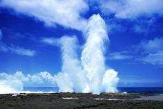 Alofaaga Blowhole: These impressive blowholes in the village of Taga on south-west Savaii are wave power in its purest form, as they propel a roaring jet of water hundreds of feet up into the air