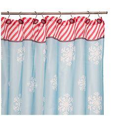 Christmas Shower Curtain Sets at Big Lots. #biglots