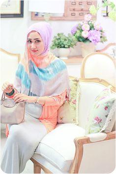love teteh @Dian Pelangi you are my inspiration on hijabi styles♥