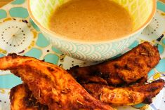 Chicken with Peanut Sauce Recipe - The Spirited Thrifter Peanut Sauce Recipe, Peanut Butter Sauce, Sauce Recipes, Chicken Recipes, Chinese Spices, Marinated Chicken, Chicken Wings, Dinner Recipes, Yummy Food