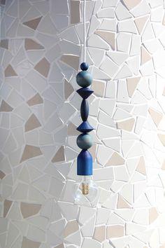 Indigo 360 pendant - by Marz Designs