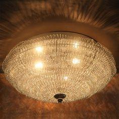 [lux.pro] Plafoniera (3 x base G9)(Ø: 37cm) metallo intreccio Mesh lampada lampadario metallo 33,90 € Metallica, Chandelier, Ceiling Lights, Lighting, Home Decor, Light Bulb Vase, Interior Lighting, Light Fixtures, Ceiling Lamps