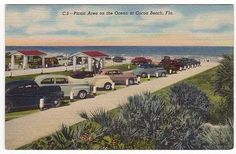 Cocoa Beach Florida Postcard
