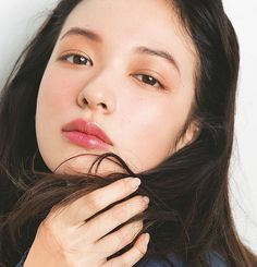 Asian Makeup, Korean Makeup Look, Lip Makeup, Makeup Eyeshadow, Beauty Makeup, Makeup Inspo, Wedding Makeup, Bridal Makeup, Japanese Makeup