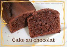 Cake au chocolat sans lactose et sans matière grasse