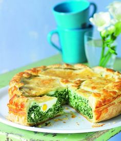 Easter! Easter Recipes, New Recipes, Spanakopita, Quiche, Good Food, Food And Drink, Tasty, Dinner, Vegetables