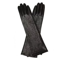 Brian Atwood Designer Gloves Rare and very hard to find!  own a pair of these myself. Two in fact because I never want to be without them. There is never a time I wear them someone doesn't admire them. They are the most buttery soft leather, the studs will never fall off and the length is perfect, extra long. They are selling for $125 on Amazon. Sold at Nieman Marcus and Target. Brian Atwood Accessories Gloves & Mittens