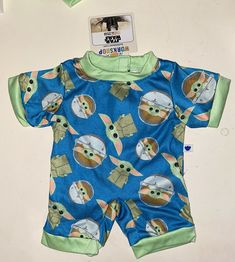 Build A Bear Star Wars The Mandalorian The Child Baby Yoda Sleeper NWT #BuildABearWorkshop Child Baby, Baby Kids, Friend Outfits, Build A Bear, Chewbacca, Mandalorian, Star Wars, One Piece, Stars
