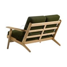 Buy Hans J Wegner Style GE 290 2 Seater Sofa with FREE UK delivery. Swivel UK supply the highest quality reproduction furniture to buy online. Old Chairs, Outdoor Chairs, Outdoor Furniture, Modern Rustic Furniture, Contemporary Furniture, Furniture Upholstery, Bedroom Furniture, Reproduction Furniture, Sofa Styling
