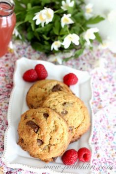 Suklaakeksit / Chocolate cookies
