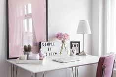 5 tips for a pretty and productive working space - Simple et Chic - Fashion & Lifestyle BlogSimple et Chic – Fashion & Lifestyle Blog