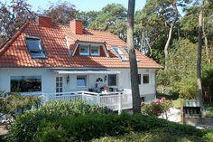 Romantisch: alle Fenster mit Blick auf das Meer, Ferienhaus in Timmendorfer Strand.