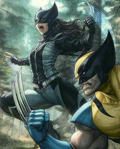 Wolverine y X23