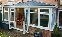 Upvc Elizabethan Solid Roof Conservatory