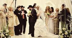 A sweet moment between a bride and her groom. #bride #groom #wedding #westingalleria dallas