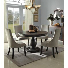Homelegance Dandelion Collection Color Distressed Taupe Set Of