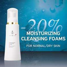 Deeply cleanses skin, refines pores and normalizes sebum activityThe smooth formula with natural fruit AHA's will improve the moisturization while simultaneously increasing the production of structural components, such as collagen and glycosaminog. Cleanser And Toner, Sun Damaged Skin, Normal Skin, Facial Cleansing, Sweet Almond Oil, Flawless Skin, Moisturiser