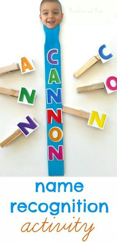 Name recognition activity