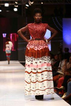Glitz Africa Fashion Week 2013. Deborah Vanessa. Accra