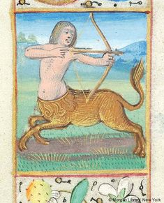 Sagittarius | Book of Hours | France, Rouen or Orléans | last quarter of 15th century | The Morgan Library & Museum