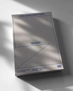 AAAAAAOO - gdbot: amnrd:PM7 (Pressing Matters 7)Adrien Menard... Book Cover Design, Book Design, Layout Design, Graphic Design Branding, Lettering Design, Image Club, Book Presentation, Printed Portfolio, School Architecture
