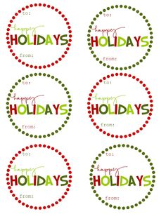 184 best christmas gift tags and printables images on pinterest in