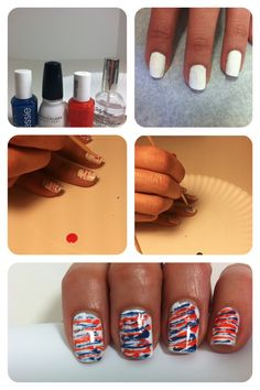 super-easy stripes... can do more or less for a fun look!