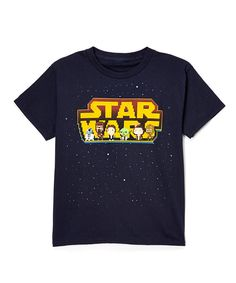 Another great find on #zulily! Retro Star Wars Six-Character Tee - Boys by Star Wars #zulilyfinds