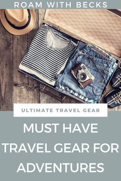 Wondering what is the best travel gear out there? Check this out for some inspiration. Be sure to be ready for your next adventure. Travel gear for your adventures. Packing tips for your next trip. Amazon Associates, Ultimate Travel, Packing Tips, Adventure Travel, Must Haves, Female, Check, Inspiration, Fashion