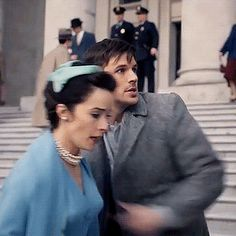 He keeps his hand on her the whole time!!!#renewtimeless